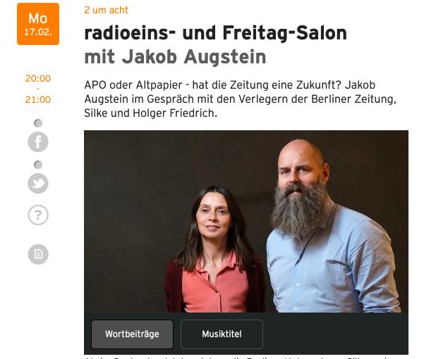 Berliner Zeitung: Ostidentität 4.0